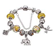 Fashion Jewelry Bracelets&brangle Glass European Beads bracelets for Women  Strand Beads bracelets #YMGP1027 Christmas Gifts