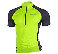 Sports Cycling Jersey Men's Short Sleeve Bike Jersey + Shorts / Tops Mesh Slim Spring / Summer / Fall/Autumn Cycling/Bike