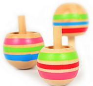 Japanese Magic Inverted Gyro Rotation Woody Puddy Children Nostalgic Toys3 Pcs/Set