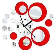 DIY Spiegel Uhr kreative Persönlichkeit Wohnzimmer