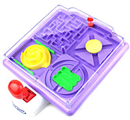 Agile Skill 4-in-1 Handle Maze Game Puzzle Toy