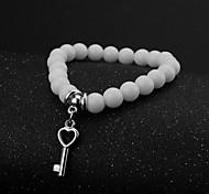 Agate Fashion Round Strand Bracelet