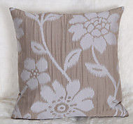 Jacquard Cushion Cover -Grey