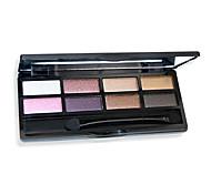 8 colores sombreador de ojos de los colores al azar desnuda comestic de larga duración de maquillaje de belleza