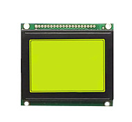 lcd12864 yellow-green LCD 12864 LCD screen, size 78 * 70 5V