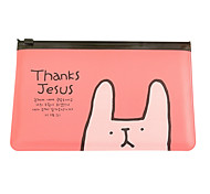 Little Rabbit Transparent Pen Bag