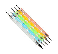 5-point Drill Nail Painting Pen Set/5 Into a Package