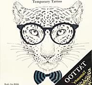 1 Tatuajes Adhesivos Series de Animal Parte Lumbar / WaterproofMujer / Hombre / Adulto / Juventud flash de tatuaje Los tatuajes temporales
