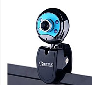 Bluelover W9 Camera HD Night Vision Lights USB2.0 Webcam Built-in MIC