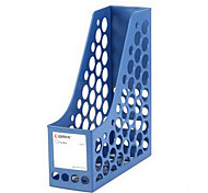 Office Desktop File Holder Plastic File Holder Quadruple File Basket Fourfold File Column File Folder Storage Box