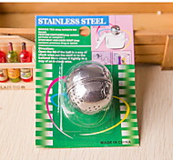 Seasoning Stainless Steel Ball Tea Pot Spices Drain Ball Soup Kitchen Gadgets