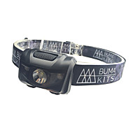 Headlamps / Safety Lights LED - Cycling Waterproof / Easy Carrying / Color-Changing AAA 180 Lumens BatteryCamping/Hiking/Caving /