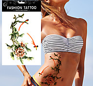 5pcs Tatuajes Adhesivos Otros Non Toxic / WaterproofMujer / Adulto flash de tatuaje Los tatuajes temporales