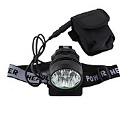 Lights LED Flashlights/Torch / Headlamps LED 5000 Lumens 3 Mode Cree T6 18650 Rechargeable / Compact Size / Super Light