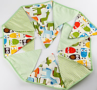 Birthday Party Accessories-1Piece/Set Costume Accessories Tag Cotton Classic Theme Other Non-personalised Green