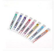 Lápis Recargas,Plástico Vermelho / Preto / Azul / Amarelo / Púrpura / Laranja / Verde