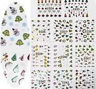 Nail Art Nail Sticker Vollständige Nail Tips / Nail Schmuck / Andere Dekorationen