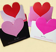 Heart Greeting Cards Korea Creative Stereoscopic Cards Valentines Day Teacher'S Day Greeting Cards