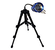 The New Fishing Light Night Fishing Lamp Hose Gimbal Aluminum Small Three Mini Camera Tripod