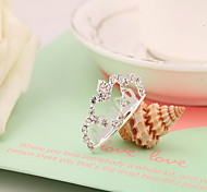 Korean Flower Girl's Alloy Heart Silver Tiaras