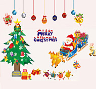 Christmas Window Sticker Contemporary , Art Deco 80*120CM