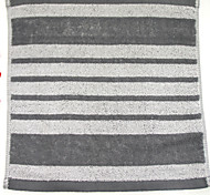 "1PC Full Cotton Wash Towel 11"" by 11"" Stripe Pattern Super Soft Strong Water Absorption Capacity"