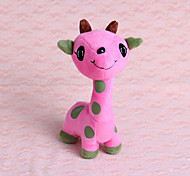 Cat Toy Dog Toy Pet Toys Chew Toy Plush Toy Deer Pink Purple Plush