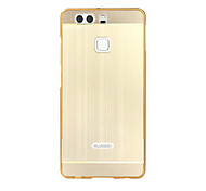 For Huawei  series Case Luxury Gold Plating Armor Aluminum Metal Frame + Mirror Acrylic Case Back Cover Hot