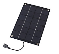 6W 5V USB Output Monocrystalline Silicon Solar Panel Charger for iPhone 6S Samsung HUAWEI (SWR6005U)