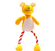 Cat Toy Dog Toy Pet Toys Plush Toy Squeaking Toy Teeth Cleaning Toy Squeak / Squeaking Plush