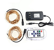 KWB 20 M 200 3014 SMD Warm White Waterproof  Remote Control Dimmable W String Lights DC12 V