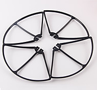 SYMA X8C / X8W Black / White / Orange Plastic Propeller Guards 1 Piece