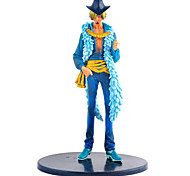 One Piece Set 15 Anniversary Dress Sanji Anime Action Figure Model Toy
