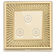 Zinc Alloy Metal Panel Intelligent Touch Wall Switch Touch Remote Control Sensor