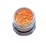 1 Bottle Nail Art Match Color Highlight Glitter Shining Colorful Powder Nail Makeup Beauty 04