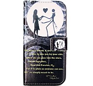Shockproof / Flip Moon Lovers PU Leather Soft Full Body Wallet Case Cover For Samsung Galaxy C5