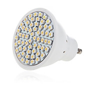 5W 2835X60SMD GU10/MR16 Warm Cool White Color Plastic Shell LED Spot Lights(AC220-240V)