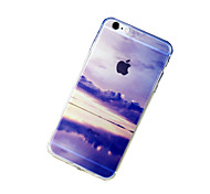 For iPhone 7 Case / iPhone 7 Plus Case / iPhone 6 Case / iPhone 6 Plus Case / iPhone 5 Case Transparent / Translucent / Pattern CaseBack