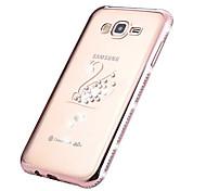 High Quality Electroplating TPU Soft Diamond Case for Samsung Galaxy J710/J510/J7/J5/J1/J1mini (Assorted Colors)