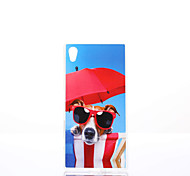 Dog Pattern TPU Material Phone Case for Sony Xperia Z5