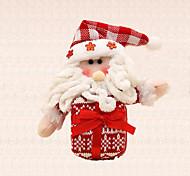 1шт веселое украшение рождественской елки подарок Санта-Клаус очарование дерева висит кулон для детей, присутствующих