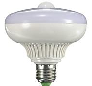 E27 B22 85V-265V 800-1300Lm 12W Body Sensor LED Bulb