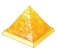 Jigsaw Puzzles 3D Puzzles / Crystal Puzzles Building Blocks DIY Toys Famous buildings 38Pcs ABS Gold Model & Building Toy