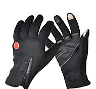 Winter Gloves Unisex Keep Warm Ski & Snowboard / Snowboarding Black Canvas L / XL-Others