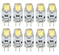 3W G4 2-pins LED-lampen T 1 COB 300-350 lm Warm wit / Koel wit / Natuurlijk wit Decoratief / Waterbestendig DC 12 V 10 stuks