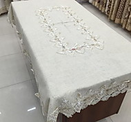 Square Table Cover Towel Cloth Light Grey Cotton And Linen Table Cloth(60*60cm)