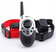 Dog Trainer 1000m Waterproof Rechargeable LCD Remote Pet Dog Training Collar Electric Shock For Two Dogs