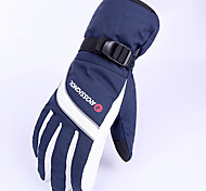 Winter Gloves Unisex Keep Warm Ski & Snowboard Green / Blue Canvas Free Size-Others