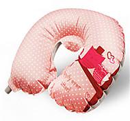 Inflatable Cartoon Outdoor Travel Pillow Pillow U