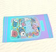"""Toalla de Playa- de100% Microfibra-Impresiones Reactivas-140*70cm(55""""*27"""")"""